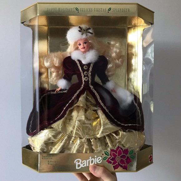 1996 Special Edition Holiday Barbie Collectible